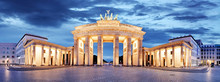 Fotobehang - Brandenburg Gate, Berlin, Germany - panorama