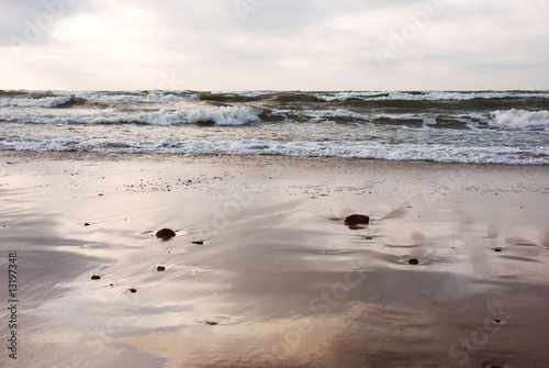 Fotobehang - Baltic Sea shore